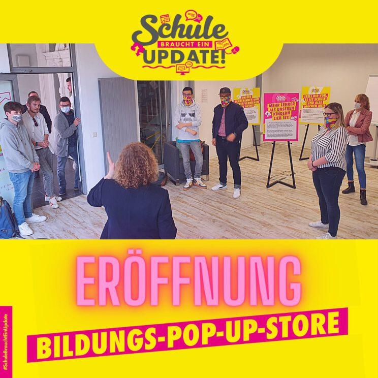 Eröffnung Bildungspopupstore Franziska Baum Erfurt