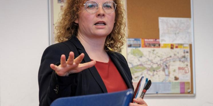 Franziska Baum bildungspolitische Sprecherin der FDP Fraktion im Thüringer Landtag